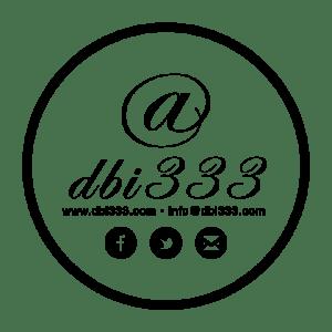 dbi social media logo bw