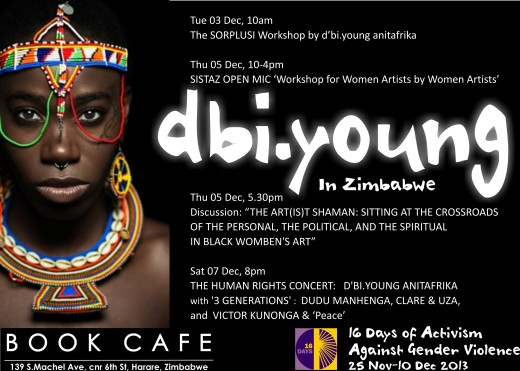 D'BI.YOUNG in Zim_POSTER