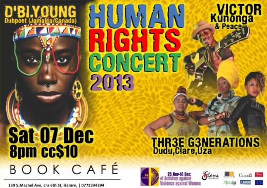 human rights concert