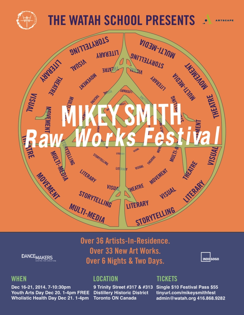 mikey smith Festival Poster Final
