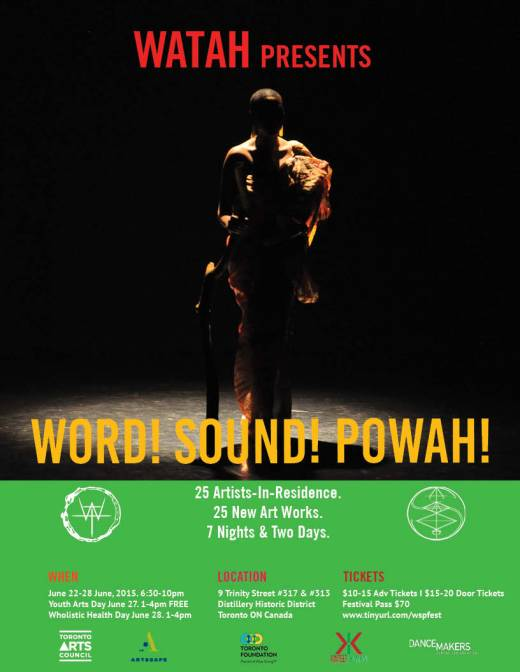 Word! Sound! Powah! Festival of Monodrama